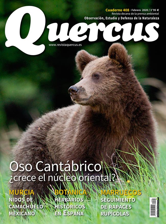 Portada Quercus nº 408 / Febrero 2020