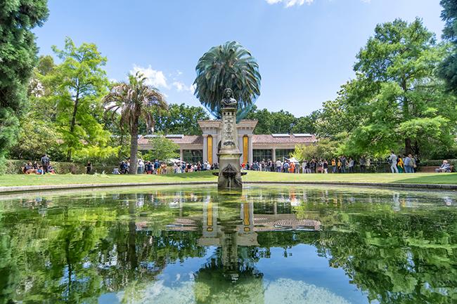 Panorámica del Real Jardín Botánico, donde se celebrará el congreso de la AIMJB (foto: RJB).