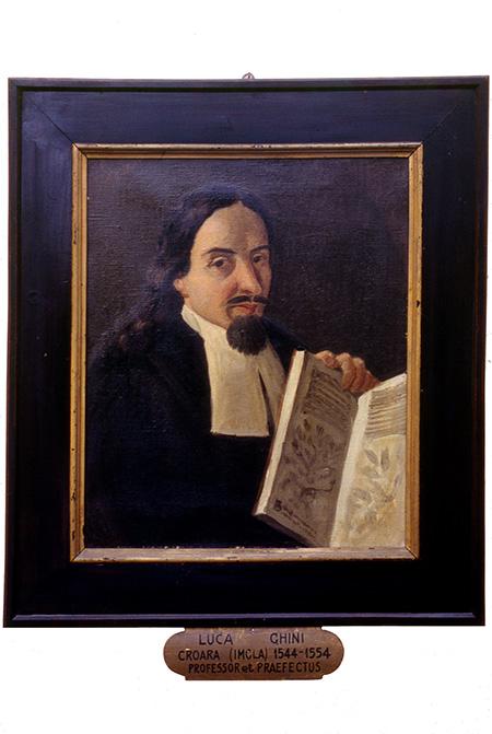 Retrato de Luca Ghini, botánico italiano que puede considerarse el inventor de los herbarios (foto: Francesco Roma-Marzio).
