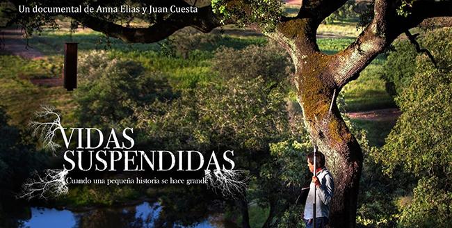Imagen promocional del documental Vidas suspendidas