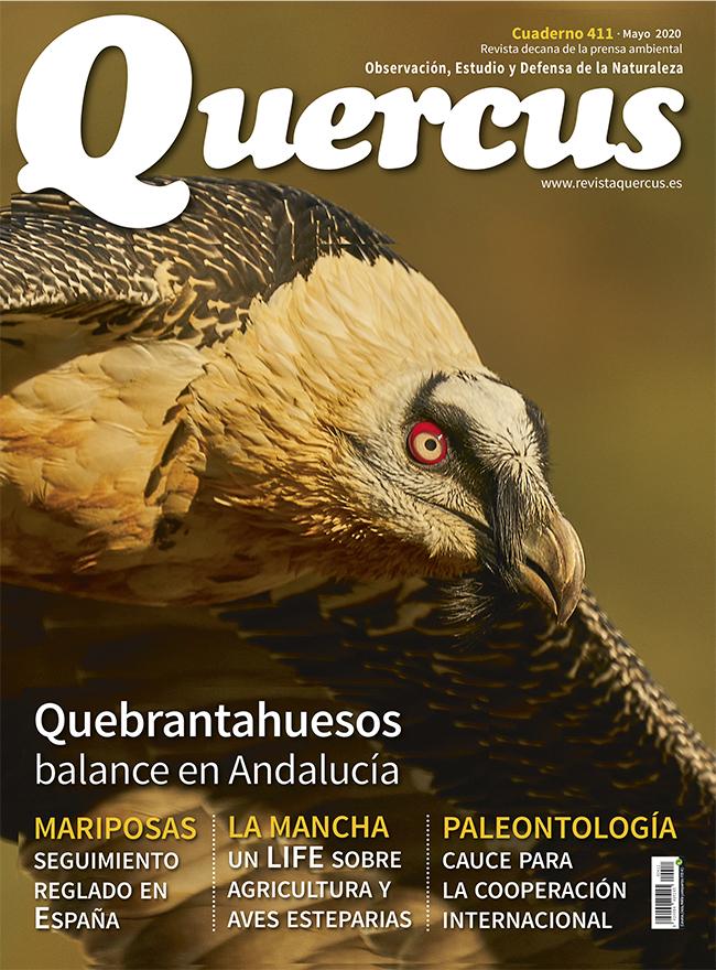 Portada Quercus nº 411 / Mayo 2020